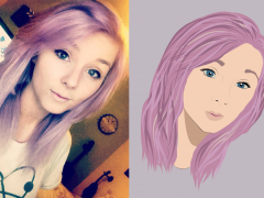 Illustrator and PhotoShop Tutorial: Draw yourself as a cartoon