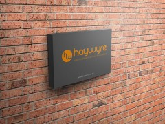 New signage for the Haywyre Offices