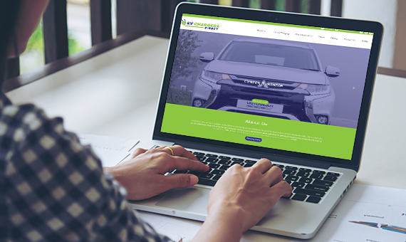 Responsive Website Developed for EV Chargers Direct